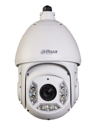 Dahua HDCVI 1Megapixel 720P 20 x Optical zoom 100m IR PTZ Dome Camera