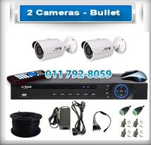 2 Bullet Cameras