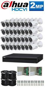 1Mp Custom Dahua HDCVI Package - 32Ch DVR, 32 Bullet Cameras
