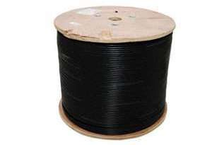 RG59 Military spec Power Black Cable 500 meter