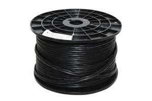RG59 Coaxial Power Cable Black 100 metres