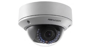 HIKVISION 2 Megapixel 2.8mm lens Weather-proof 30m IR Network Dome Camera