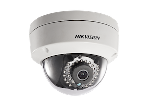 HIKVISION 4 Megapixel 2.8mm lens Weather-proof 30m IR Network Dome Camera