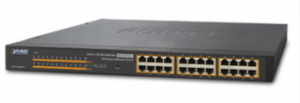 24-PORT GIGABIT POE MANAGED SWITCH GS-4210-24P2S