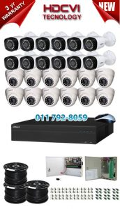 2Mp Custom Dahua HDCVI Package - 32Ch DVR, 24 Bullet Cameras
