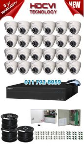 2Mp Custom Dahua HDCVI Package - 32Ch DVR, 24 Dome Cameras