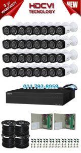 2Mp Custom Dahua HDCVI Package - 32Ch DVR, 32 Bullet Cameras