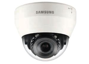 Samsung 2 Mp 2.8 ~ 12mm Varifocal lens PTR HD 15m IR LCD Network Dome Camera