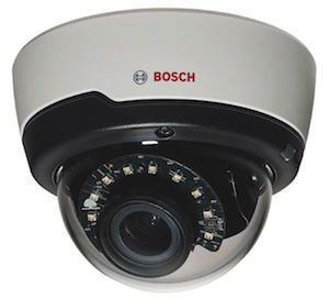 Bosch 1.3Mp CMOS FLEXIDOME True day/night 3~10mm varifocal lens 15m IR Dome Camera