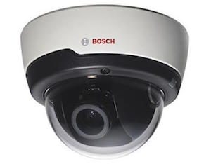 Bosch 1.3Mp CMOS FLEXIDOME True day/night 3-10mm varifocal lens Dome Camera