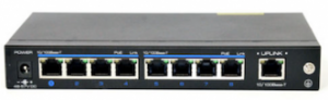 8-Port 10/100Mbps PoE Switch -+ 1Port TP Uplink NW110-2