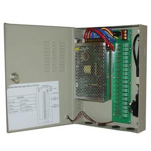 Power Supply CCTV 18 Way 12VDC 20 Amp PS69