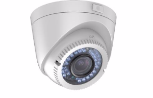 HIKVISION HD-TVI 720P Vari-focal 40m IR 2.8-12mm Lens Eyeball Dome Camera