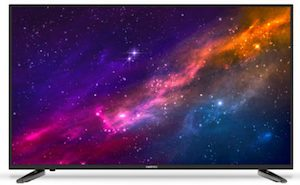 "Sinotec 65"" (165cm) Smart Plus+ Slim LED TV"