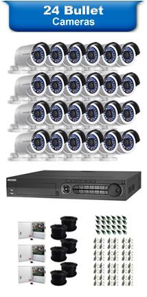 24 Bullet Cameras