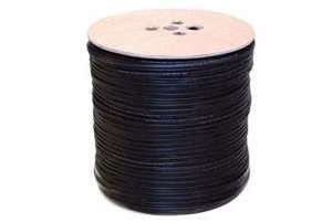 RG59 Coaxial Power Cable Black 500 meter