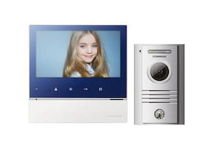 COMMAX 7″ Colour Wired Handsfree Video Intercom Kit
