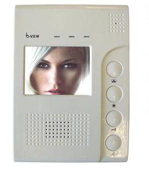 BPT b-View Colour Wired Video Intercom Monitor