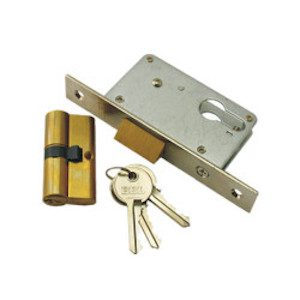 Gate Latch Lock 25mm and Cylinder LK29-1