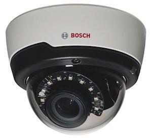 Bosch 1.3Mp CMOS FLEXIDOME True day/night 3~10mm varifocal lens 15m IR Dome Camera