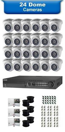 24 Dome Cameras