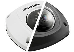 HIKVISION 4 Megapixel 2.8mm lens Weather-proof 30m IR Network Mini Dome Camera