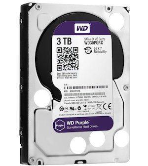 WD 3TB Surveillance HDD