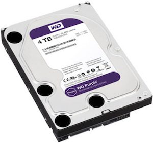 HIKVISION WD 4TB Surveillance HDD