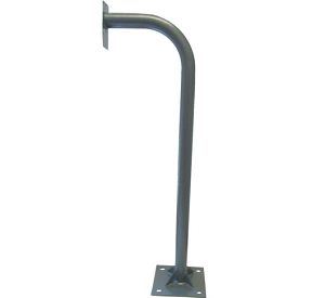 Gooseneck with baseplate