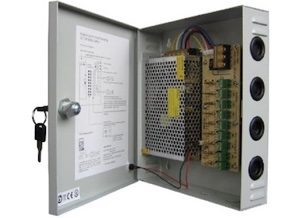 9 Way Regulated 10A Power supply