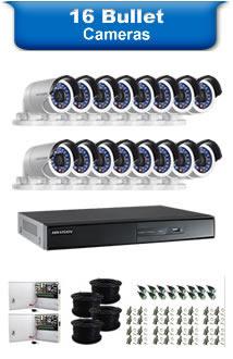 16 Bullet Cameras
