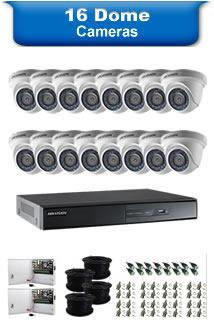 16 Dome Camera Packages