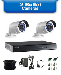2 Bullet Camera Packages