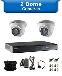 2 Dome Cameras