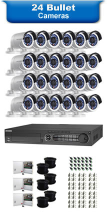 24 Bullet Camera Packages