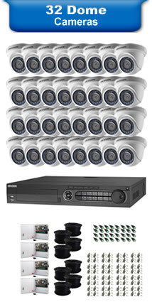 32 Dome Camera Packages