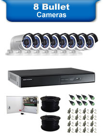 8 Bullet Camera Packages