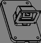 ECB-001 WALL BR