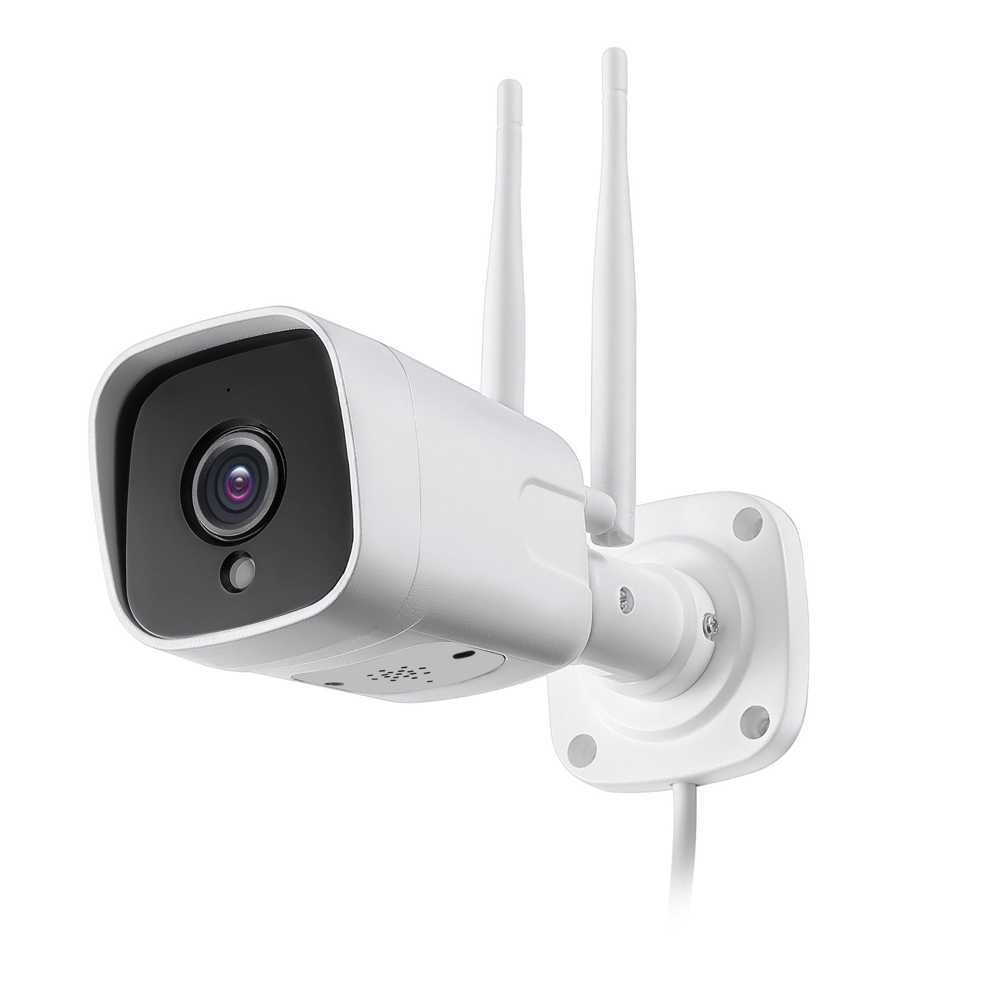 3G 4G Sim Card Outdoor 5MP Bullet Camera, 100m IR, 2 Way Audio