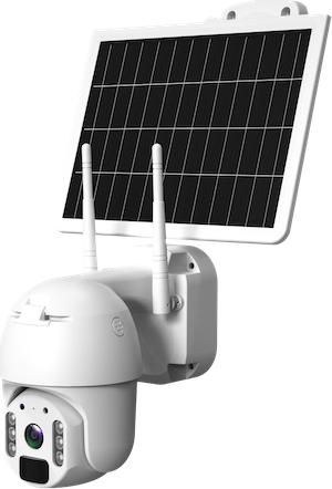 3G:4G PTZ with Solar Panels