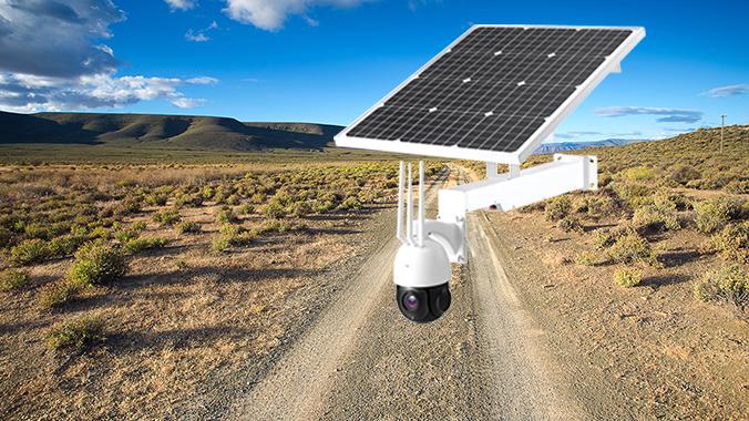 CCTV | PTZ with Solar Panel plus Battery