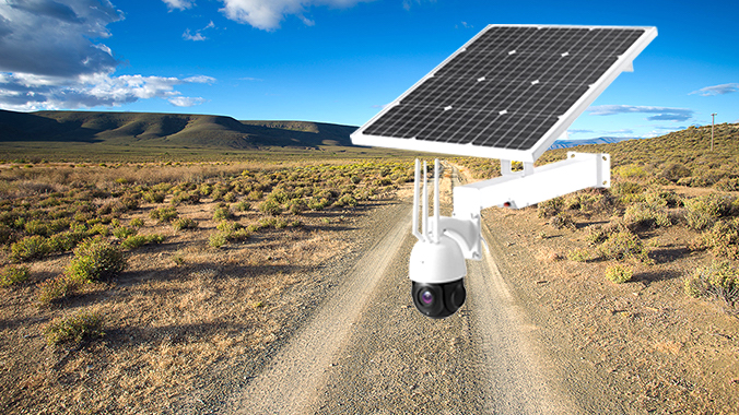 CCTV | PTZ with Solar Panel and Battery