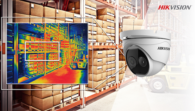 Hikvision Thermal Bispectrum Fire Detection
